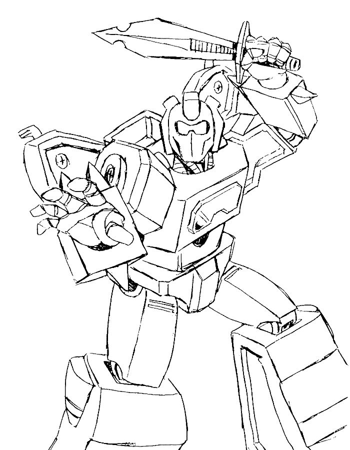 transformers halloween coloring pages - photo#2