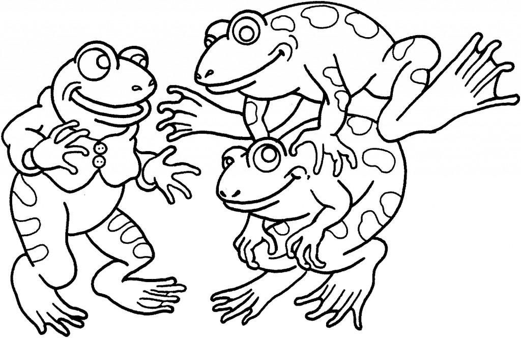 Froggy Coloring Pages Jonathan London