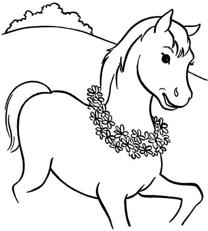 Dancing Horses Drawing Dancing Horses Colouring Pages
