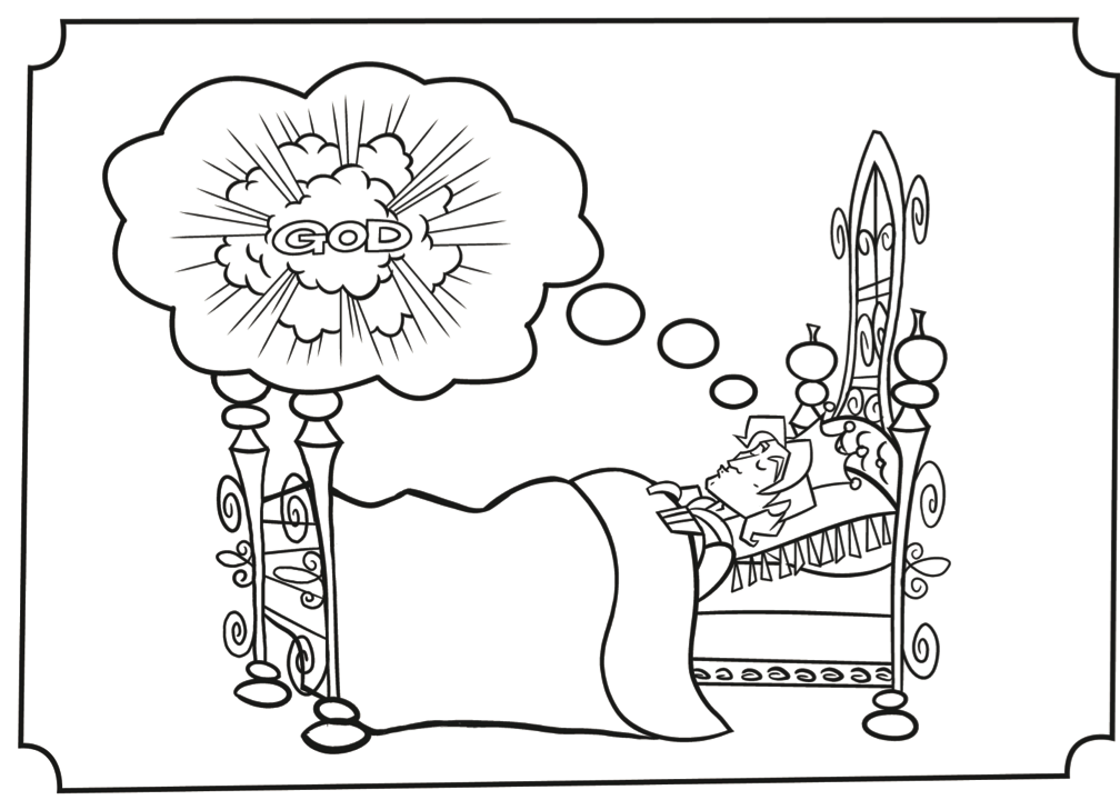 Solomon Builds The Temple Coloring Page - Coloring Home