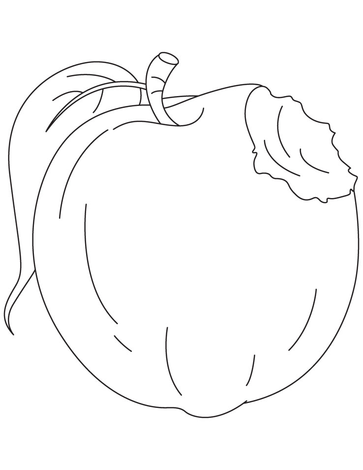 Coloring Pages Apples