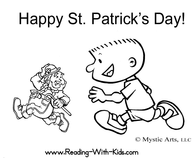 zabbar st patricks day coloring pages - photo #41