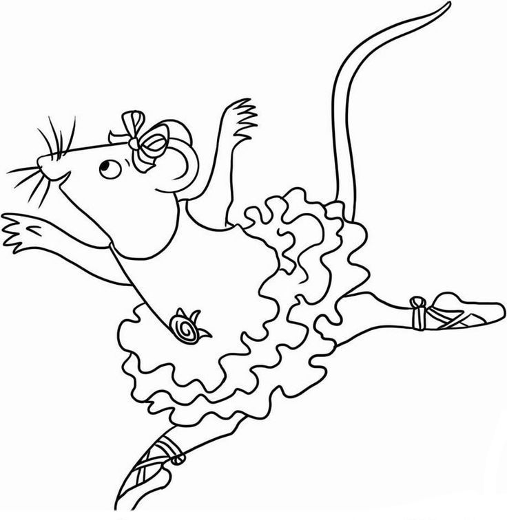 Angelina Ballerina Coloring Pages 15 | Coloring Pages - Coloring Home