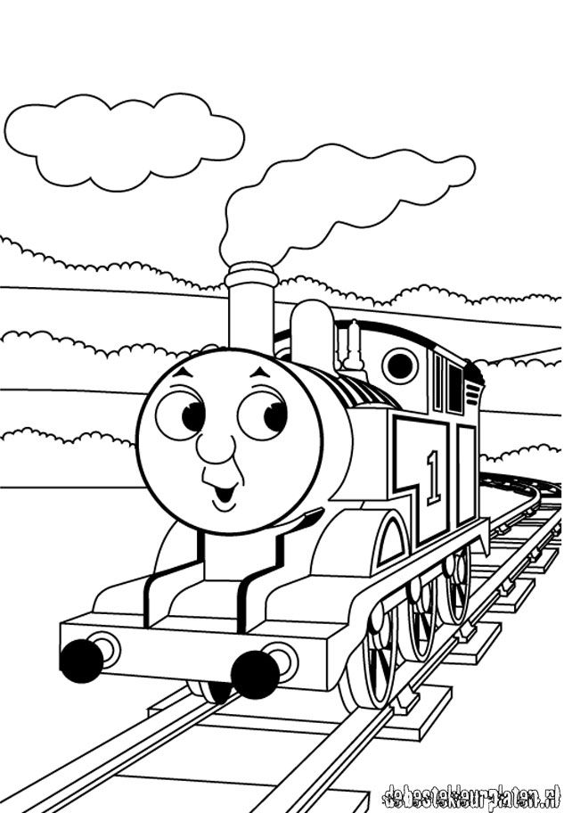 thomas and friend coloring pages - photo#3
