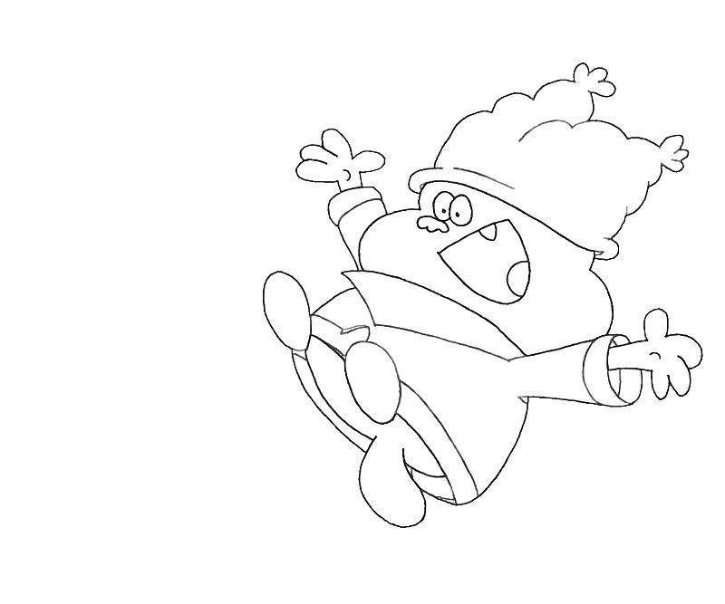 Chowder Printable Coloring Pages