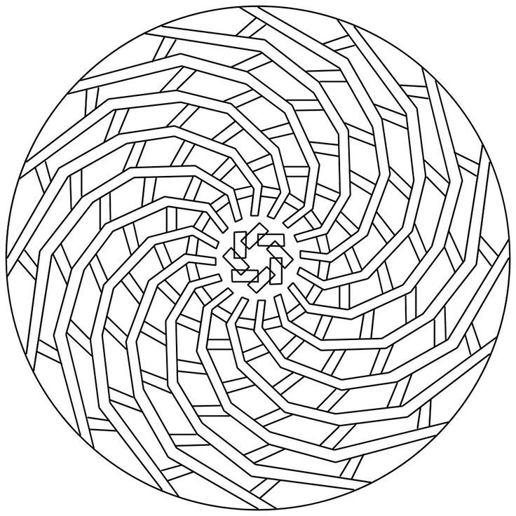 coloring pages for adults geometric - photo#25