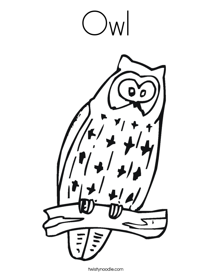 Gallery For > Girly Owl Coloring Pages