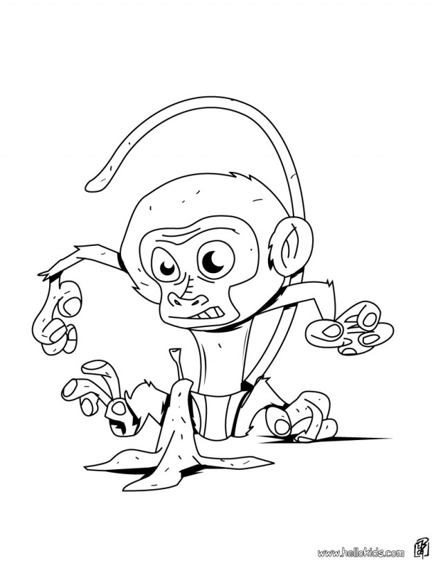 uakari coloring pages - photo #16