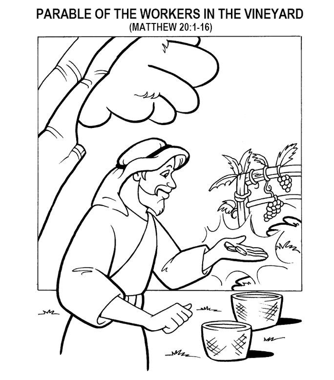 Good Samaritan Coloring Page For Preschoolers | 778x684