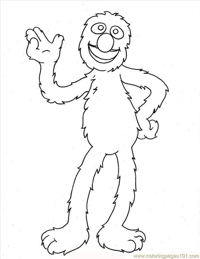 Grover Coloring Pages Coloring