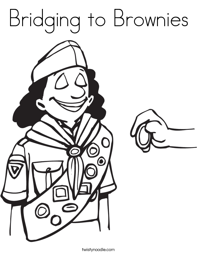 girl scout cookies coloring pages - photo#29