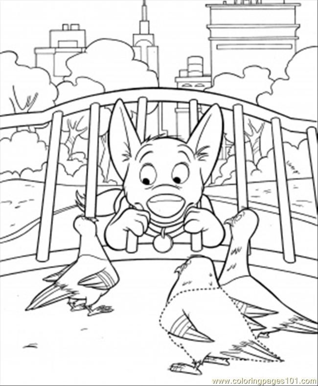 bolt coloring pages for kids - photo#14