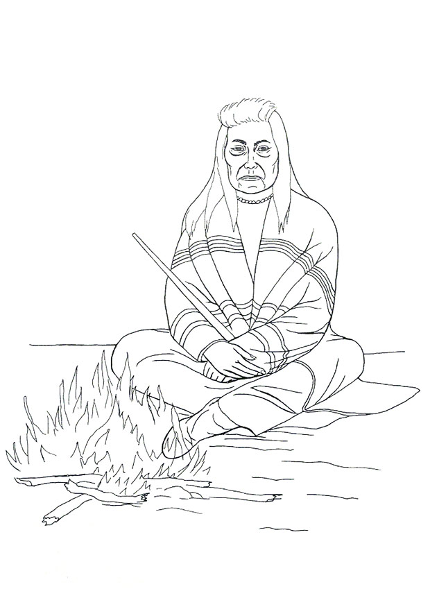Native american coloring pages free az coloring pages for Navajo coloring pages