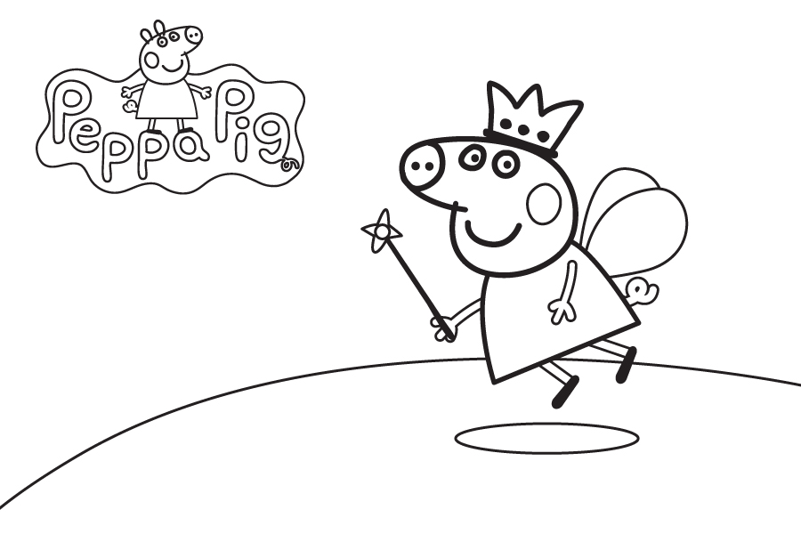 Online Colouring Pages Peppa Pig : Peppa pig coloring sheets az pages