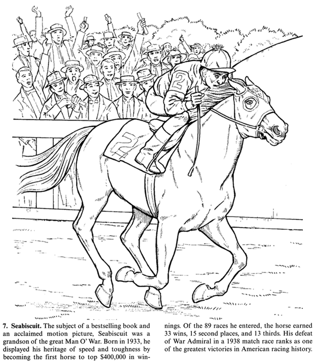 coloring pages horses running - photo #43