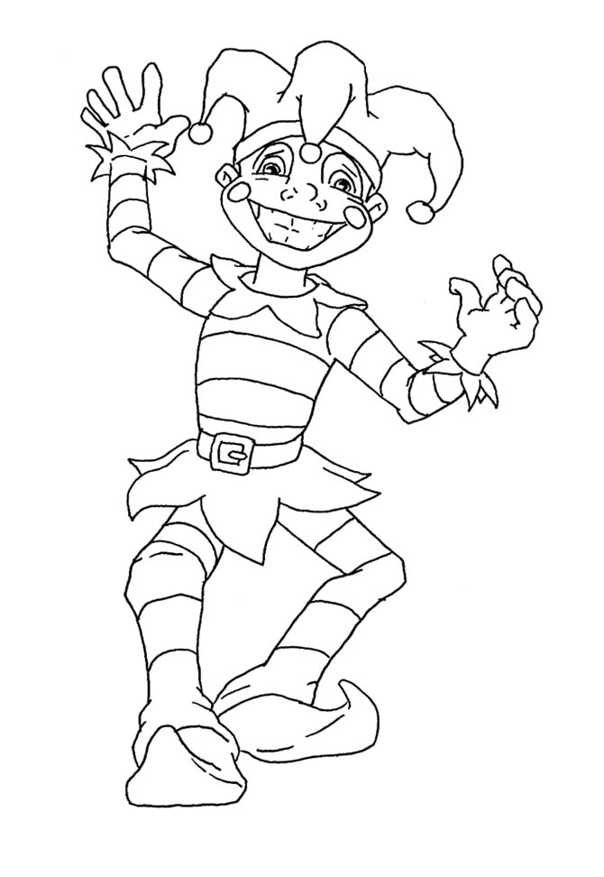 Mardi Gras Coloring Pages For Kids