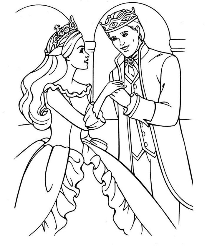 barbie coloring pages full size - photo#13