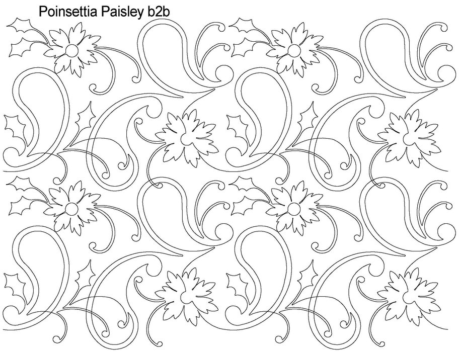 picture of a poinsettia az coloring pages