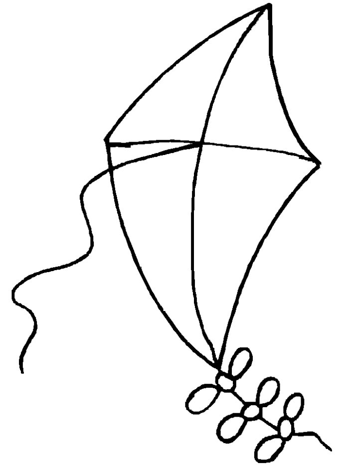 Coloring Pages Of Kites