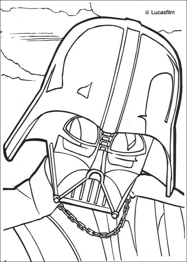 k vader Colouring Pages