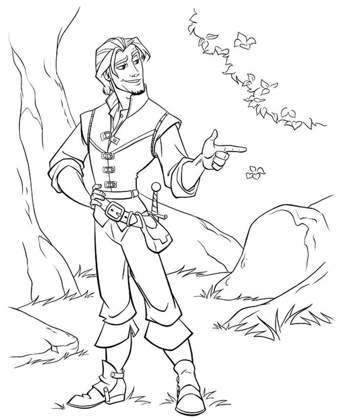 kids under 7 tangled coloring pages az coloring pages