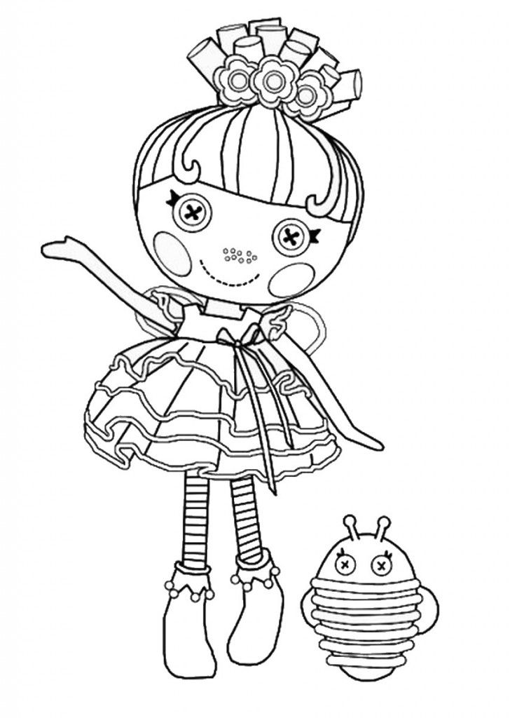 lalaloopsy coloring pages for kids - photo#11