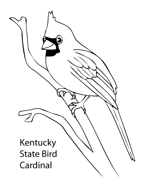 ohio state symbols coloring pages - photo#25