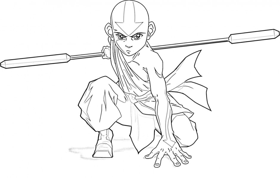 Free Coloring Pages Of Avatar The Last Airbender Avatar Last Airbender Coloring Pages