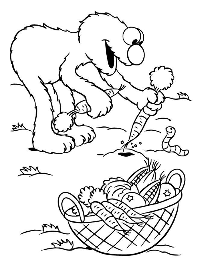 Harvest Coloring Page Coloring Home Harvest Coloring Pages