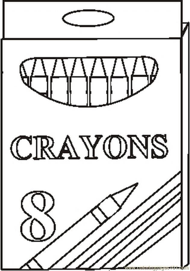 coloring pages halloween crayola crayons - photo#31