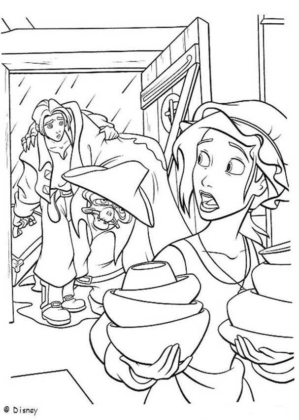treasure planet coloring book pages treasure planet 6