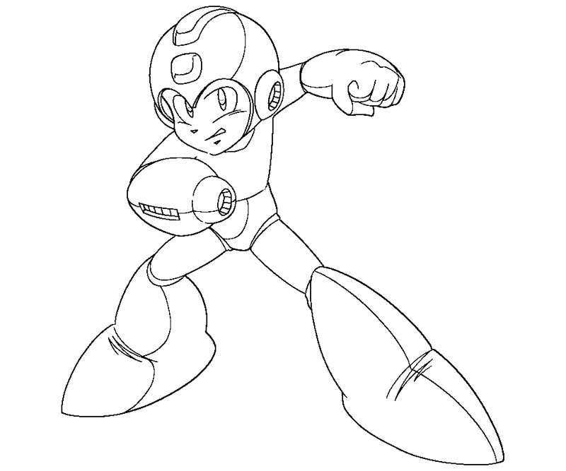 Coloring Page Disclaimer Earnings Mega Man X Version Wallpaper 480 272 62 Kb