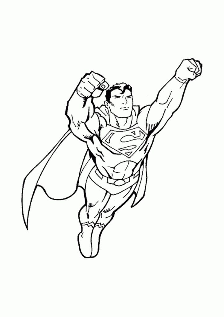 Superman Coloring Pages Pdf : Superman coloring pages for kids hd printable