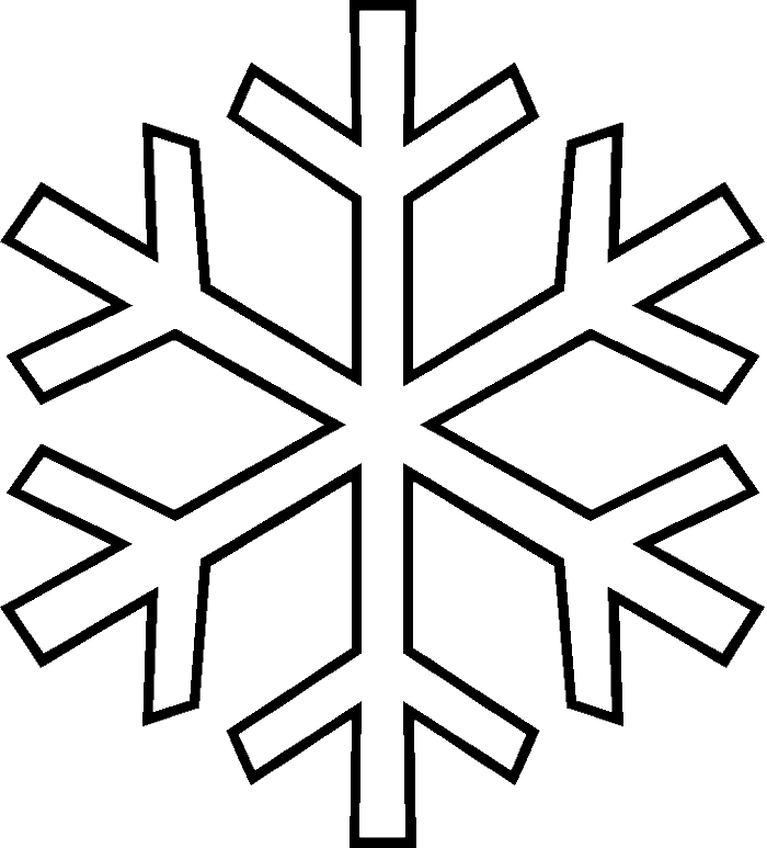 Photos Snowflake In The Winter Coloring Pages - Winter Coloring