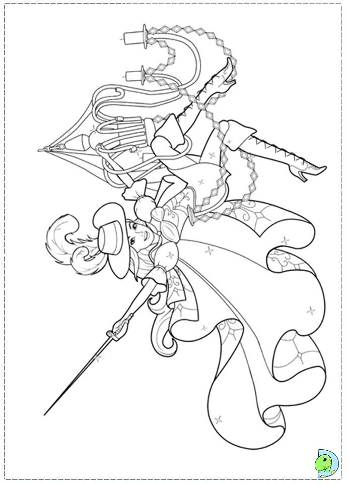 Three Musketeers Coloring Pages Coloring Home