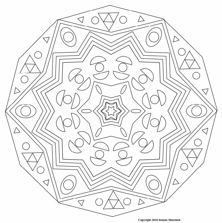 complicated house coloring pages - photo#10