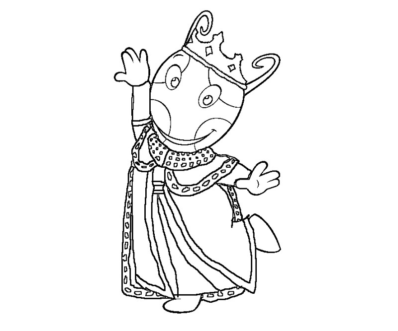 backyardigans coloring pages austin - photo#16