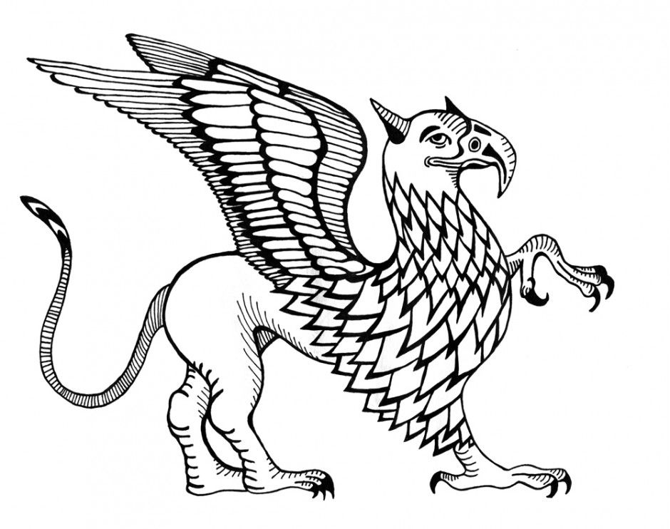 magical creature coloring pages - photo#35