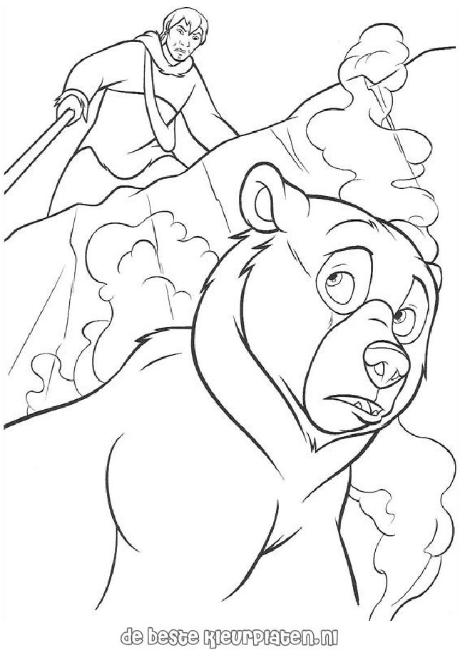 brother bear 2 coloring pages - photo#13