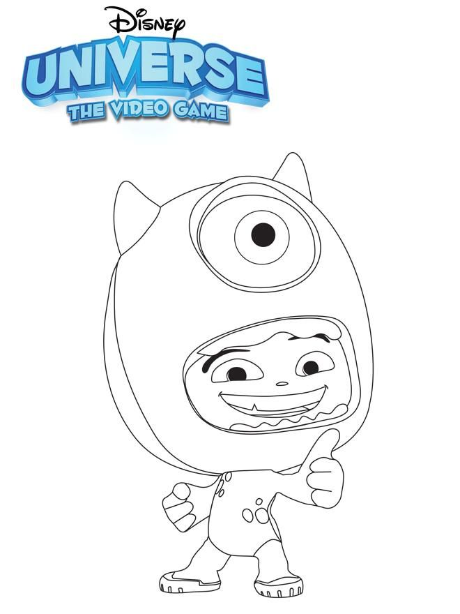 Colouring Pages Disney Games : Disney coloring game home