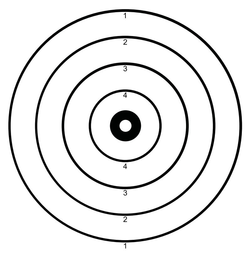 Free Shooting Targets Survivaldump Coloring Home
