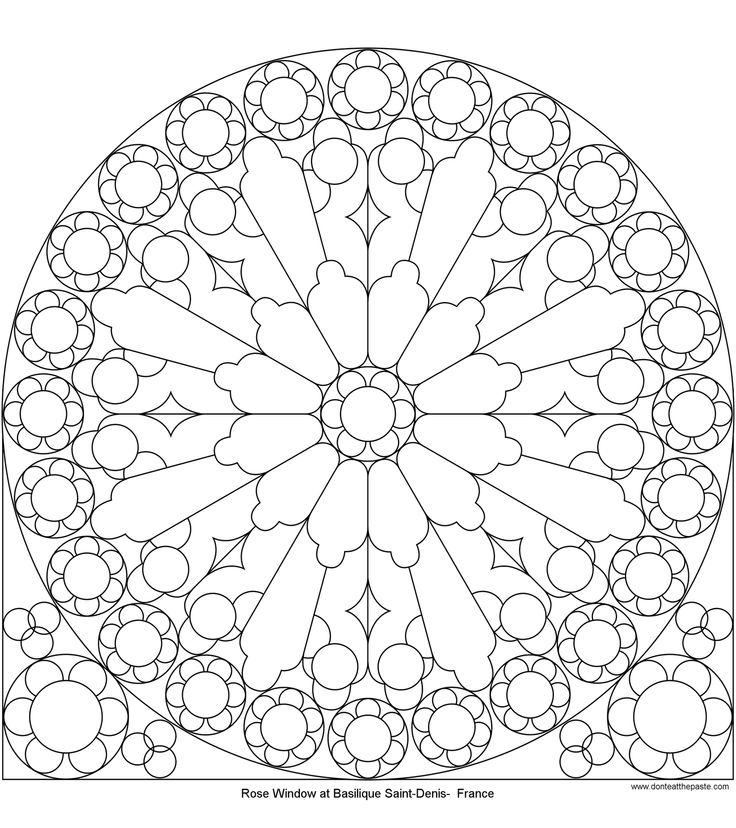 Free Coloring Pages Of Medieval Stained Glass Of Free Printable Stained Glass Coloring Pages