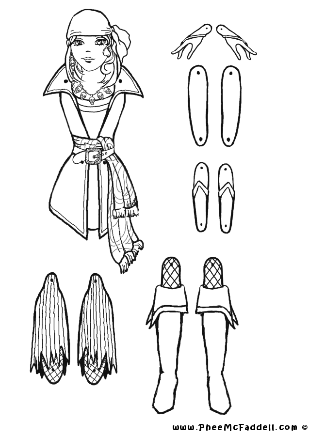 coloring pages of puppets - photo#27