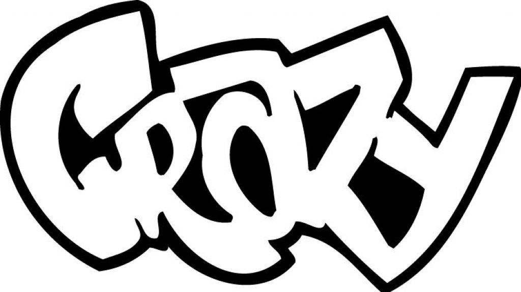 Swag Graffiti Words Coloring Pages