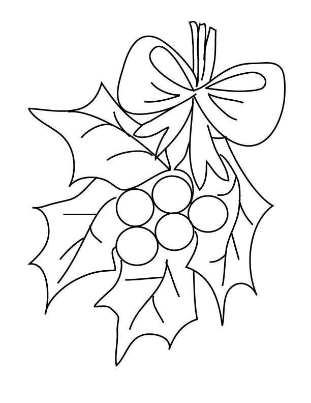 Mistletoe Coloring Page Az Coloring Pages Mistletoe Coloring Page