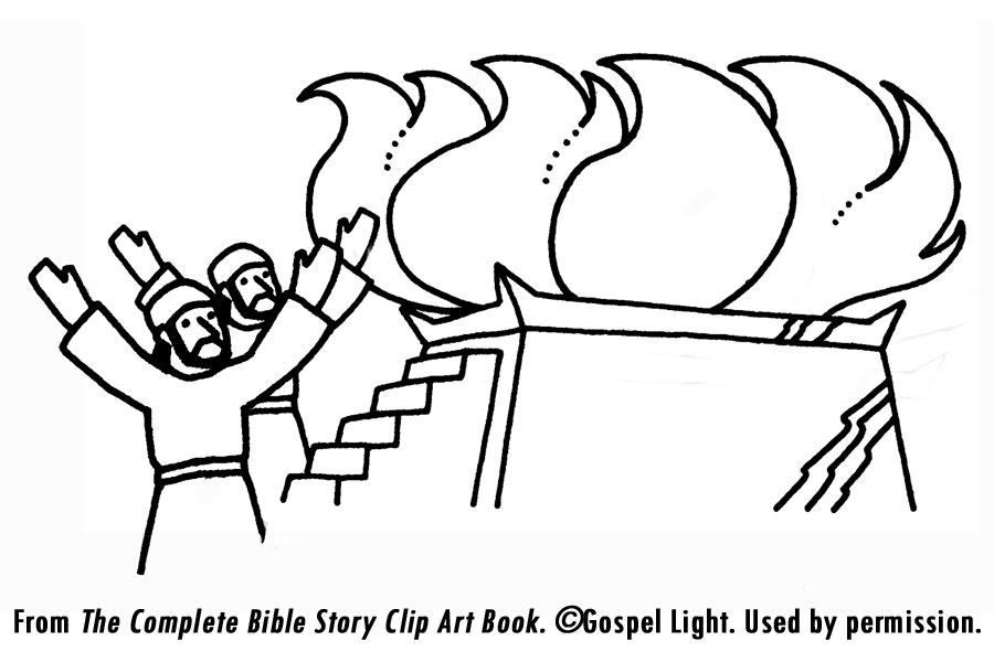 Tabernacle Coloring Pages - Coloring Home