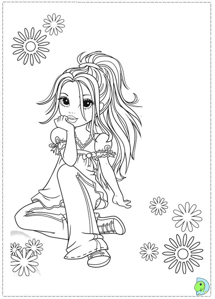 moxie girlz Colouring Pages (page 3)