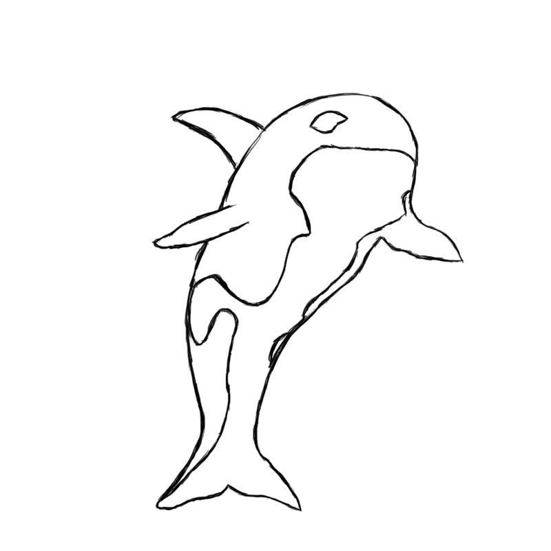 Killer Whale Coloring Page Coloring Home