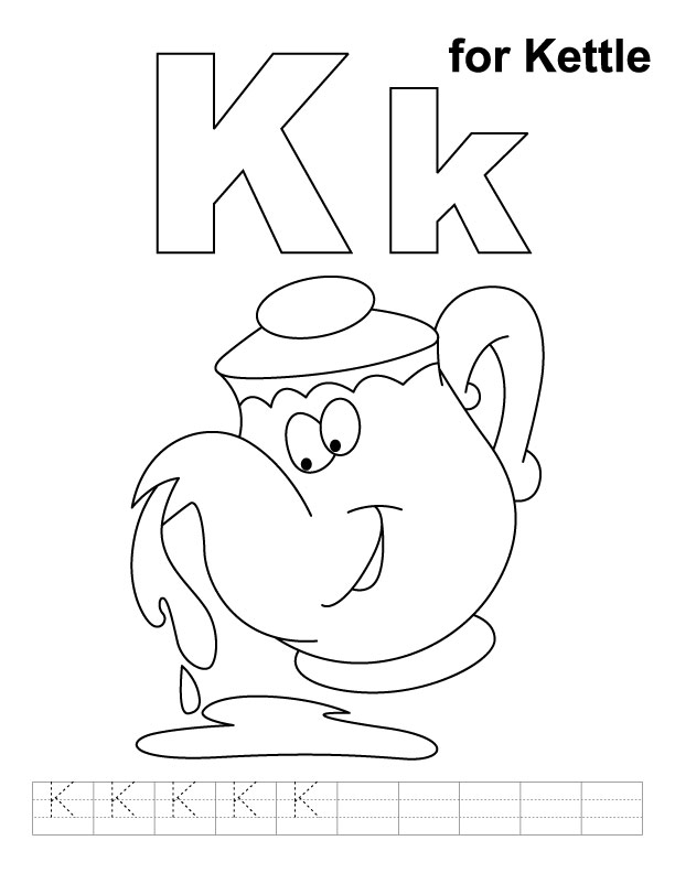 K Is For Koala Coloring Page K Is For Koala Coloring Page K