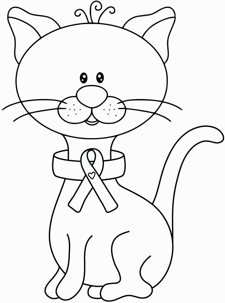 breast cancer awareness coloring pages for kids | Breast Cancer Awareness Coloring Pages - Coloring Home